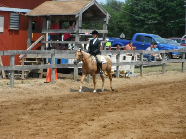 Honey at a show